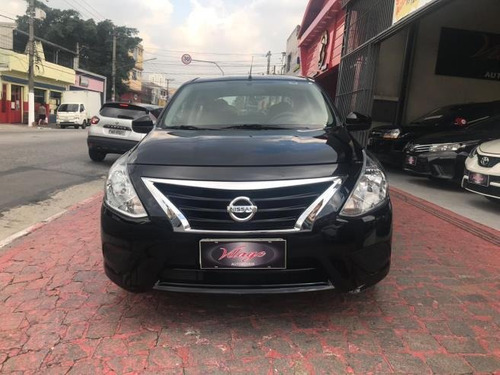 nissan versa s 2017 2018 vilage automoveis  sem entrada