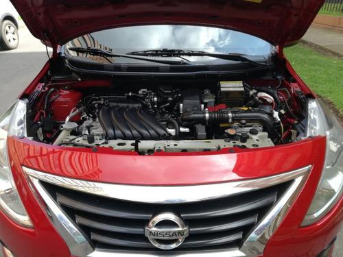 nissan versa sense 2015 1600 cc automatico