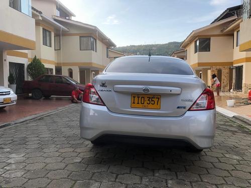 nissan versa sense, modelo 2015 - unico dueño 69.000 km