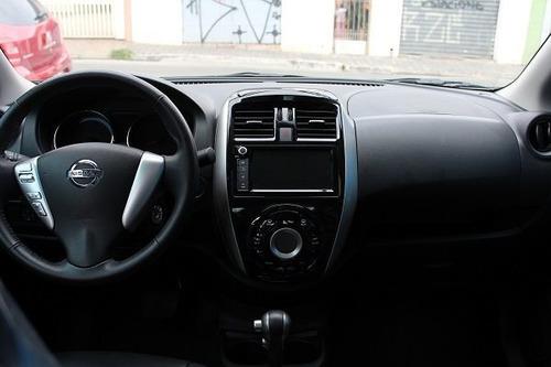 nissan versa sl 1.6 automático - oportunidade carro bom uber