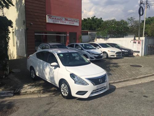 nissan versa sv 1.6 aut ( 2017/2018 ) okm por r$ 57.899,99