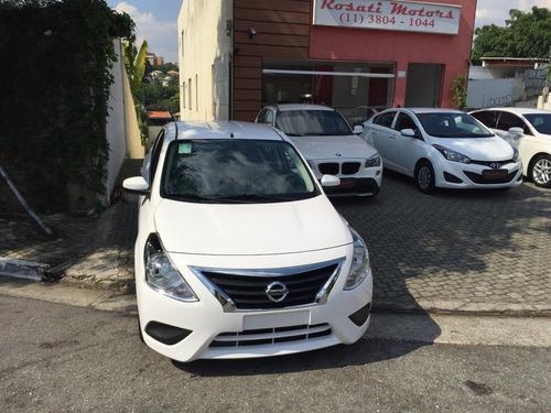 nissan versa sv 1.6 aut ( 2018/2019 ) okm por r$ 58.999,99