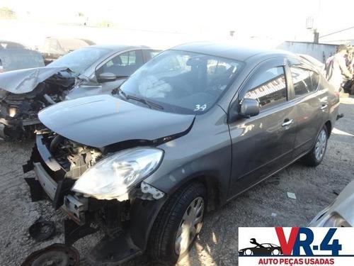 nissan versa sv 2012 sucata para retirada de peças