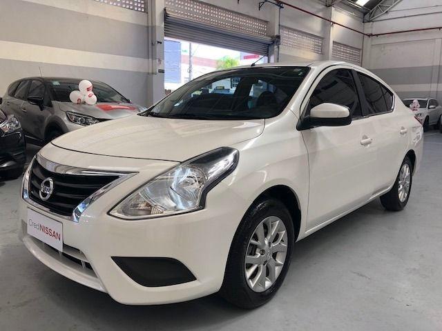 Nissan Versa Sv Cvt 1.6 16v Flex, Garantia De Fabrica