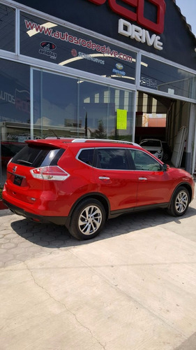 nissan x-trail advance roja 2016 (3 filas asientos)