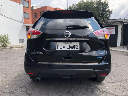 nissan xtrail exclusive 2.5 full equipo