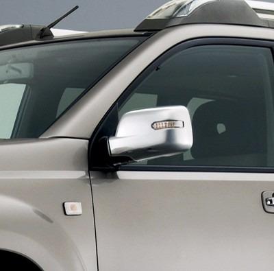 nissan xtrail, t30. cubiertas espejos retrovisores, con luz
