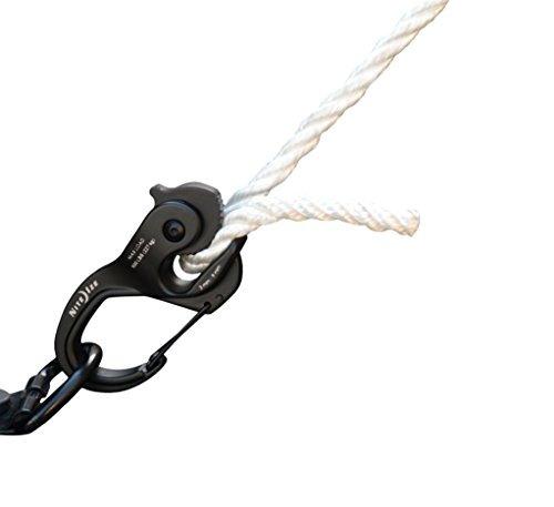 nite ize camjam xt - alicates de cuerda y cordon color negro