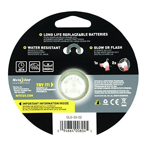 nite ize spotlit clip-on luz led con mosqueton, resistente a