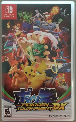 nitendo switch juego pokemon tournament dx