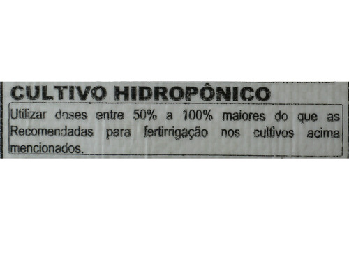 nitrato de potássio krista k yara hidroponia fertirriga 1 kg
