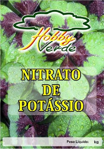 nitrato de potássio krista k yara hidroponia fertirriga 250g
