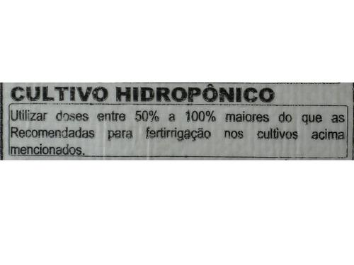 nitrato de potássio krista k yara hidroponia fertirriga 500g