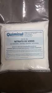 nitrato de sódio 1 kg alimentício (salitre do chile)