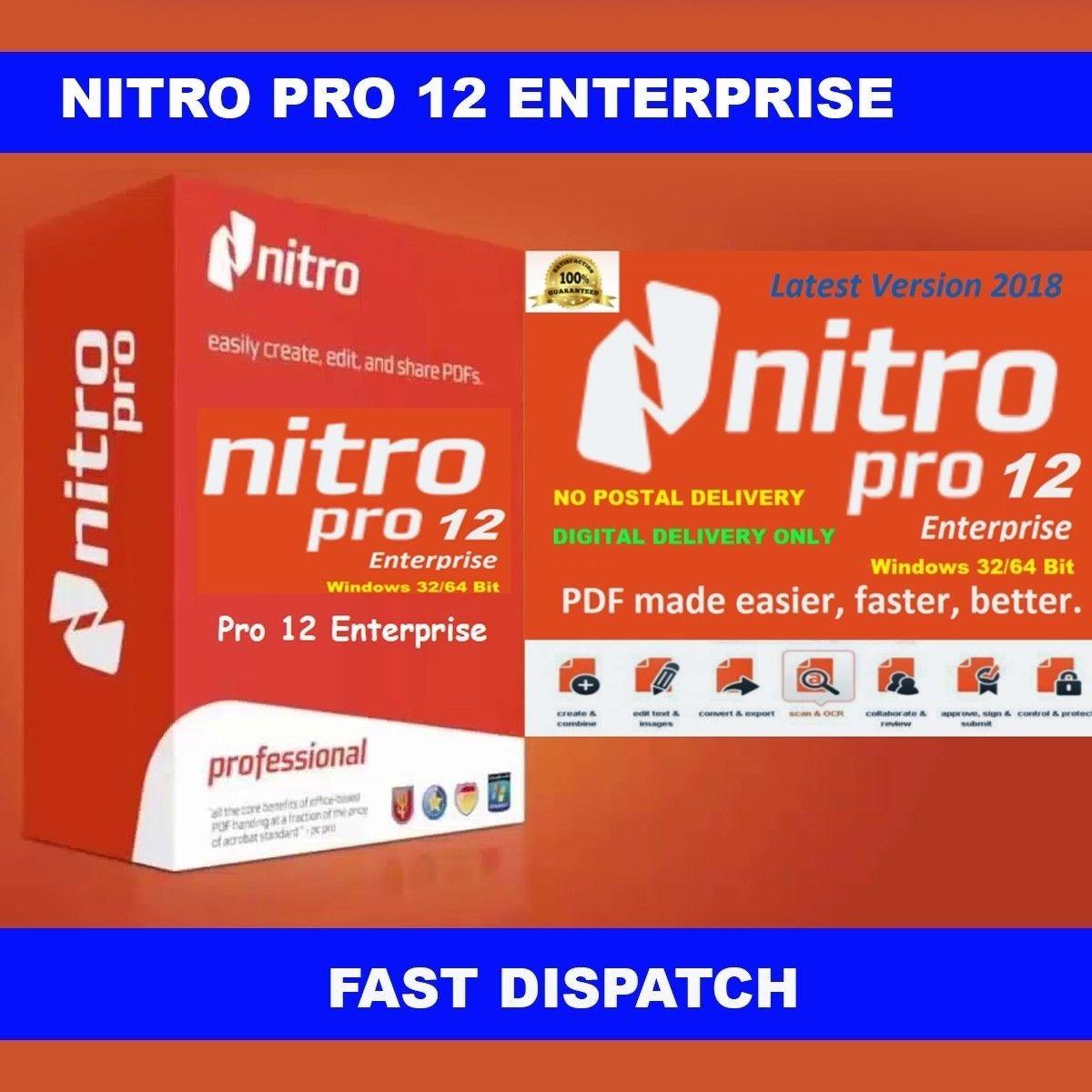 Nitro pro 12 release date | Nitro Pro Crack 12 10 1 487 (64