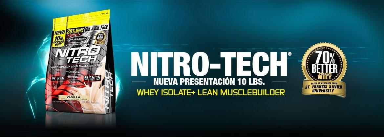 Resultado de imagen para Nitro Tech 10 libras banner