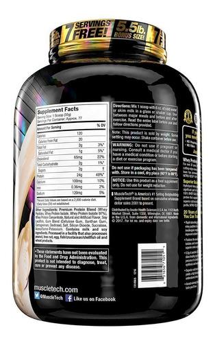 nitro-tech 100% whey gold 5.5 lb - muscletech