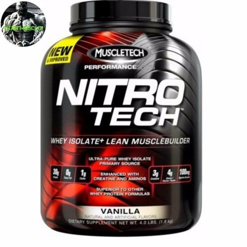 nitro tech 4lb muscletech