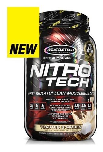 nitro tech protein 2lb isolate formula - l a $55000