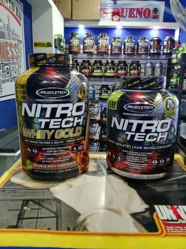 nitro tech whey gold 6lbs $3800, gold standar 5lbs $3800
