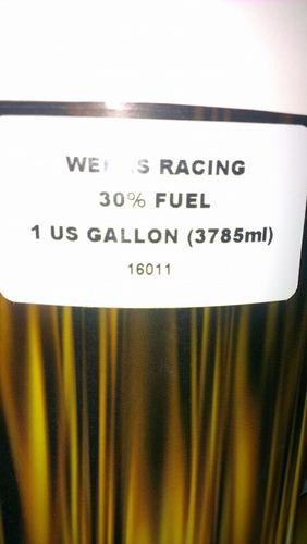 nitrometano combustible werks racing 30% fuel automodelismo