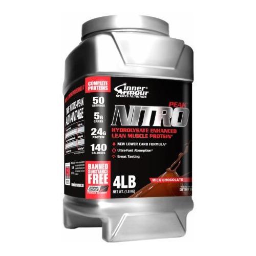 nitropeak 4 lb chocolate inner armour nutrition system