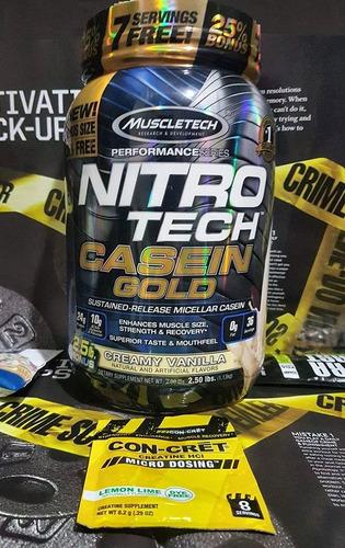 nitrotech caseina gold 2.5lb en oferta $1950