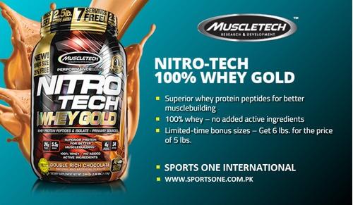 nitrotech whey gold 5.6 lbs isolate protein nitro tech u s a