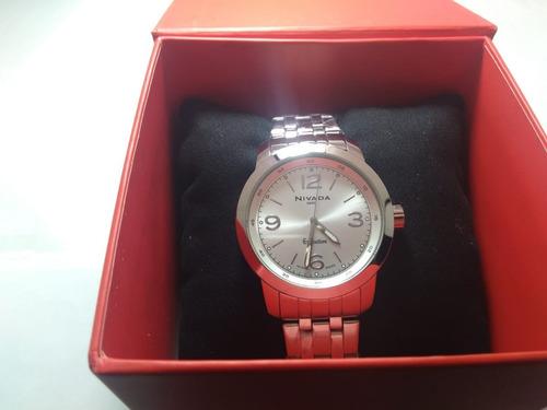 nivada np3811macpa reloj análogo clásico para hombre
