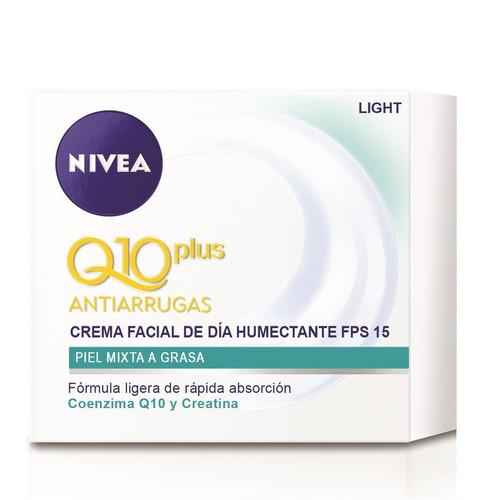 nivea crema facial antiarrugas q10plus humectante