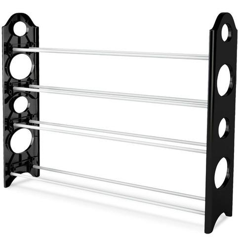 nivel 4 20 pares zapato libre torre rack organizador ahorro