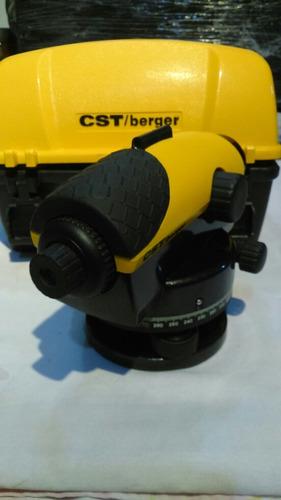 nivel automatico topografico cst/berguer 24x