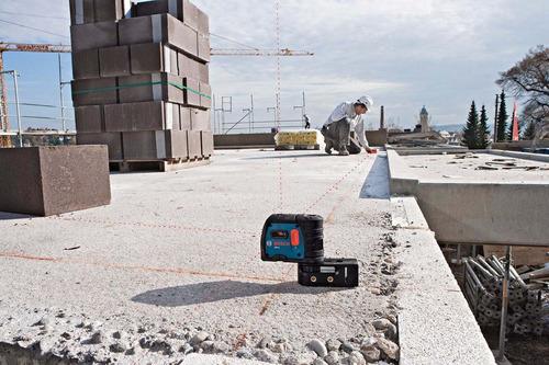 nivel bosch gpl5 5 puntos de nivelacion laser distancia 30ms