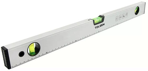 nivel de aluminio con imán 40 pulg/100cm tolsen 35107