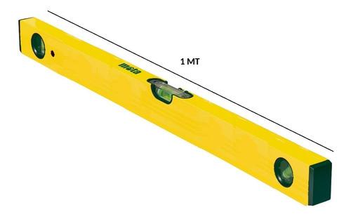 nivel de aluminio tubular 1 metro 40 pulg mota n100
