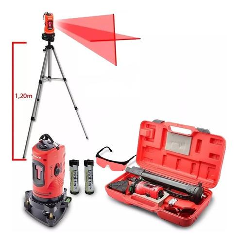 nível laser 150 mm c/ tripe autonivelameto em cx plast. mtx