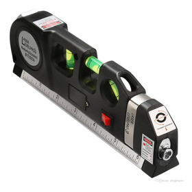Nivel Laser 3 Burbujas Horiz/vert Cinta Métrica Regla