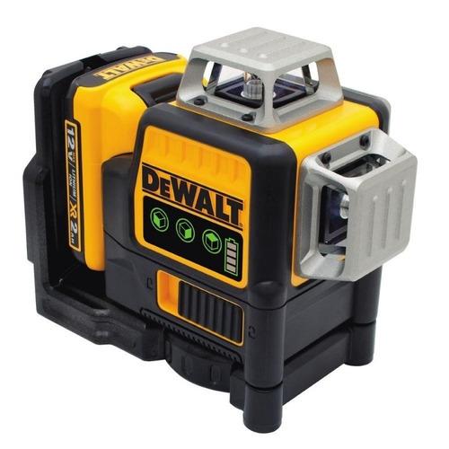 nivel laser autonivelante 360° dewalt verde a batería