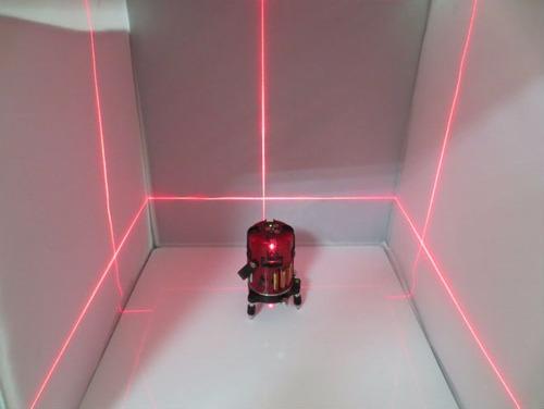 nivel laser autonivelante 5 lineas (4v 1h) nuevo