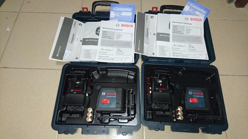 nivel laser autonivelante bosch gll 2-15 + bm 3 nuevo