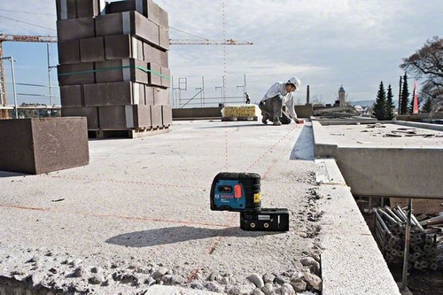 nivel laser autonivelante bosch gpl 5 puntos 30 mts plomada