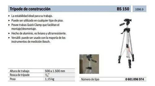 nivel laser autonivelante bremen 360º 7287 + tripode bosch