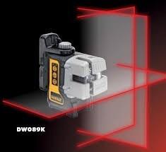 nivel laser autonivelante dewalt 30mt proyeccion cruz dw089k