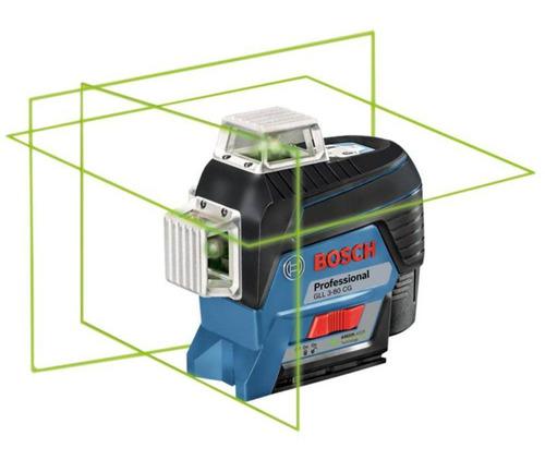 nível laser bosch gll 3-80 cg e receptor lr7 maquifer