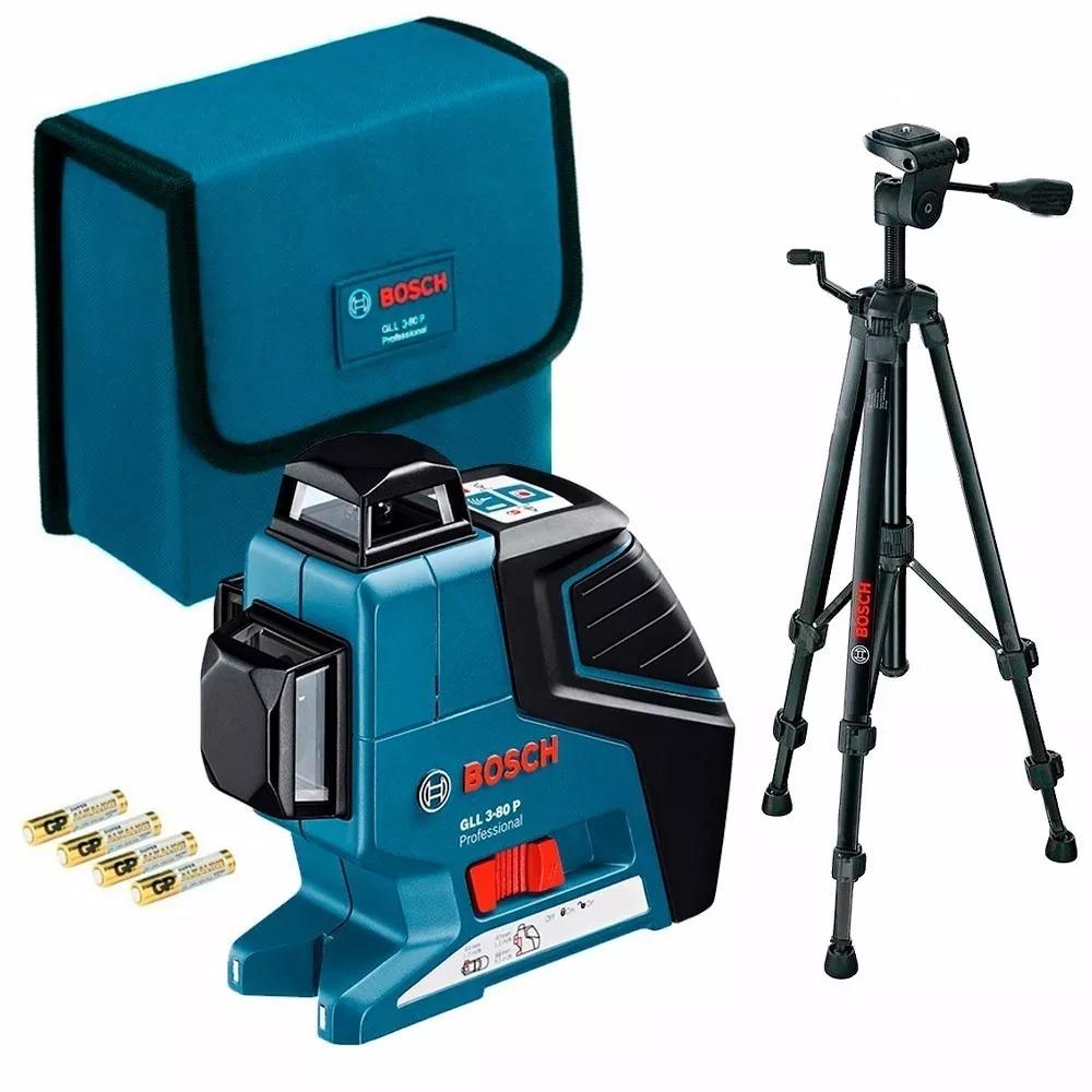 1e8691748cda60 Nivel Laser Bosch Gll 3-80 Professional + Tripe Bt150 - R  2.330,00 ...