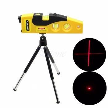 nivel laser con tripode, 3 trazos,