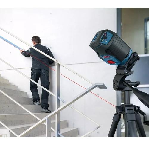 nivel laser de linhas bosch gcl 2-15g maquifer