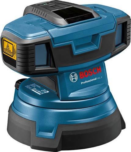 nivel laser de suelo bosch gsl2 +control remoto+cajon l-boxx