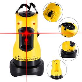 Nível Laser Profissional 360°  Nivelador Vertical Horizontal