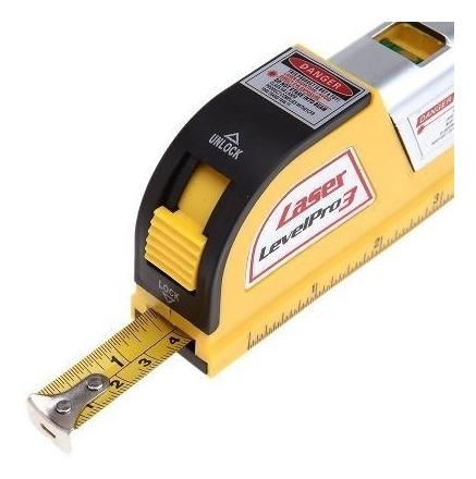 nivel laser profissional base magnetica com trena level pro 3